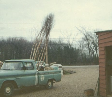 First truck parked outside the store in 1968