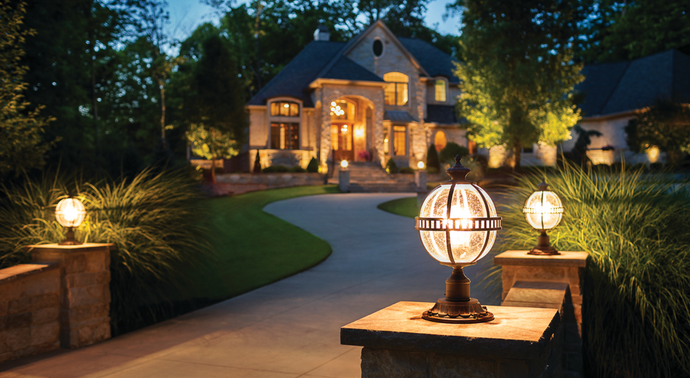 royal city nursery guelph benefits of lighting your landscape driveway lighting