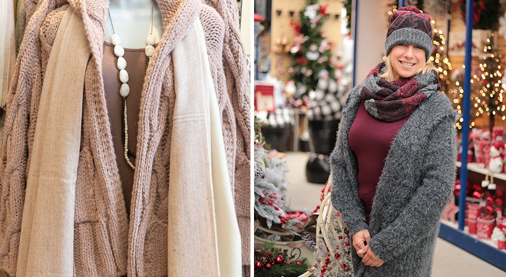 royal city nursery guelph getting ready for the holidays Tsuga Boutique fashion